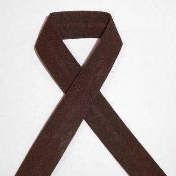 Biais uni - 18 chocolat