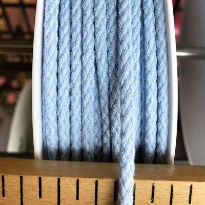Cordon coton 4mm - ciel
