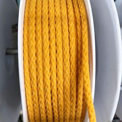 Cordon coton 4mm - orange