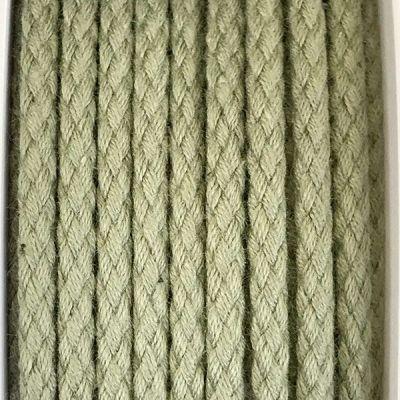 Cordon coton 4mm - kaki