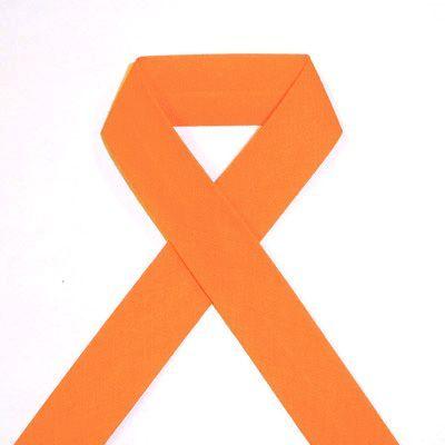 Biais uni - 25 orange