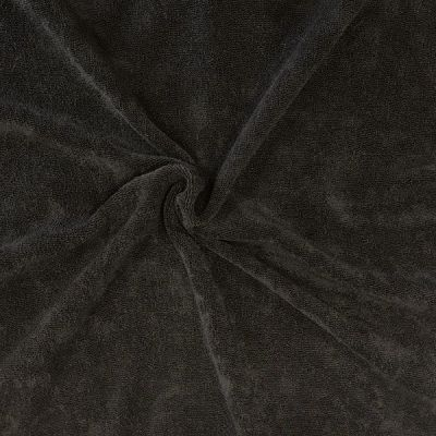 Micro-éponge de bambou monoface noire Oekotex 100