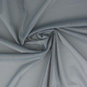 Tissu mesh gris