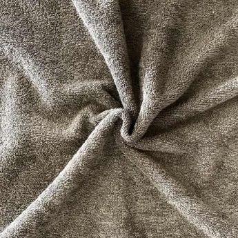 Eponge de coton bio GOTS grise