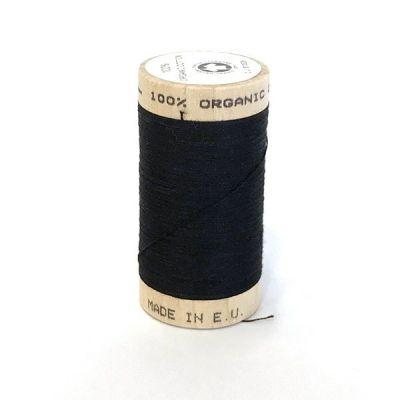 Fil coton bio bobine 100m NOIR Scanfil