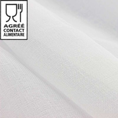 Tissu tulle mousseline alimentaire