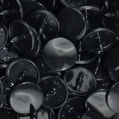 100 pressions femelles KAM taille 20 B05 noir