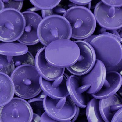 Pressions KAM taille 20 B35 violet foncé
