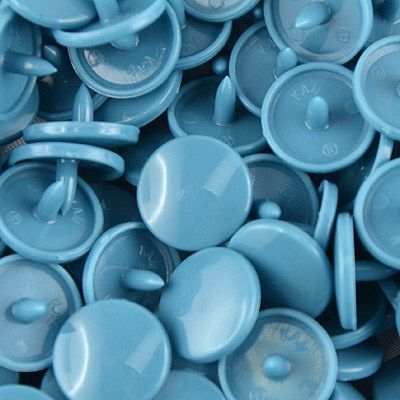 Pressions KAM taille 20 B27 bleuet